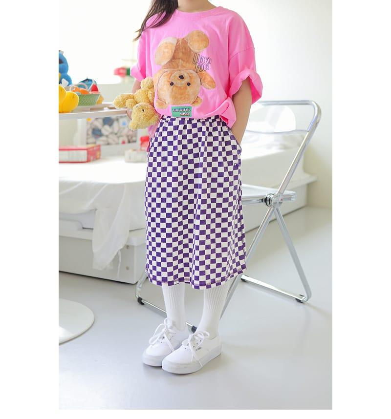 PEACH-CREAM - Korean Children Fashion - #Kfashion4kids - Biella Skirt