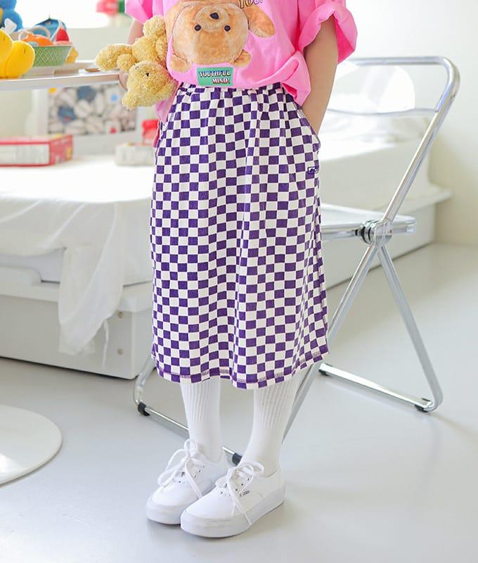 PEACH-CREAM - BRAND - Korean Children Fashion - #Kfashion4kids - Biella Skirt