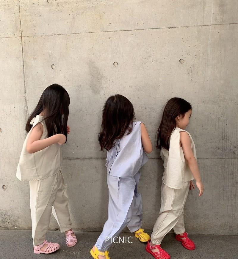 PICNIC - Korean Children Fashion - #Kfashion4kids - Roro Set-up - 2