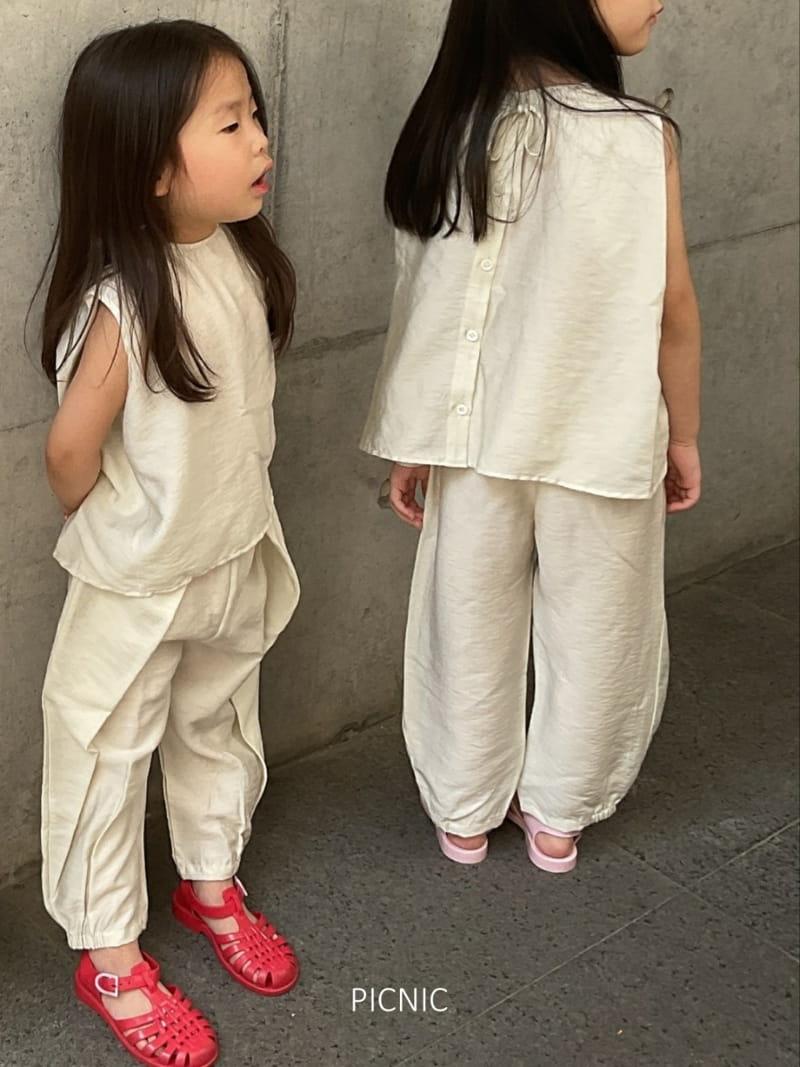 PICNIC - Korean Children Fashion - #Kfashion4kids - Roro Set-up - 3
