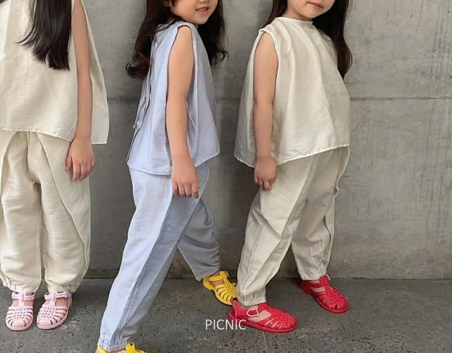 PICNIC - BRAND - Korean Children Fashion - #Kfashion4kids - Roro Blouse