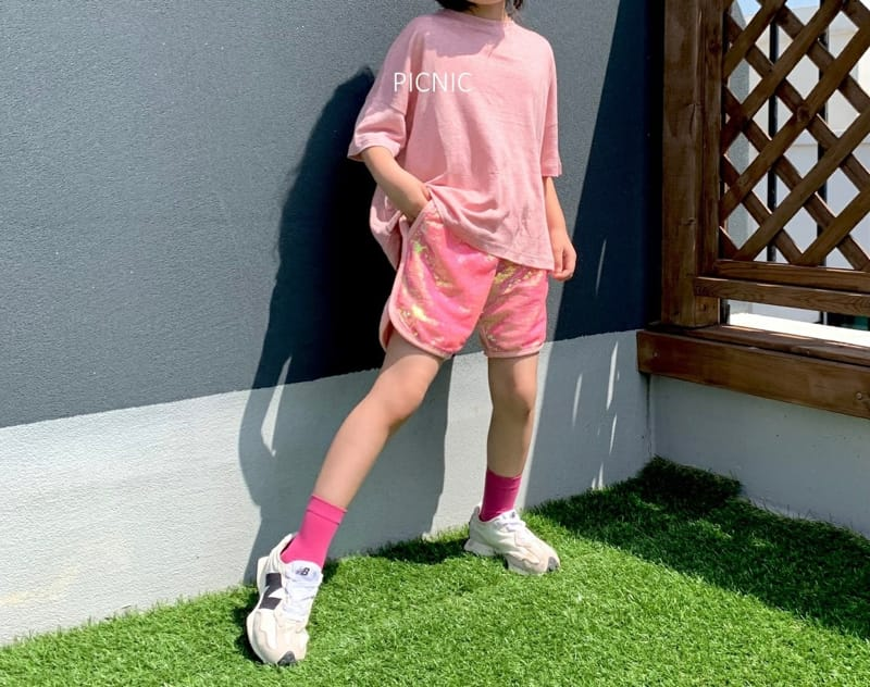 PICNIC - Korean Children Fashion - #Kfashion4kids - Spangle Shorts
