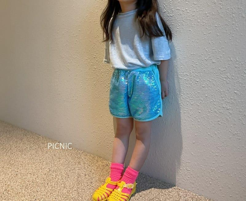 PICNIC - Korean Children Fashion - #Kfashion4kids - Spangle Shorts - 3