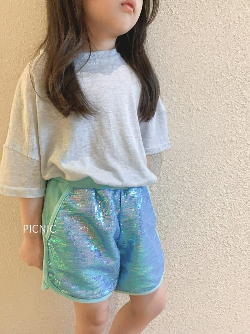 PICNIC - Korean Children Fashion - #Kfashion4kids - Spangle Shorts - 4