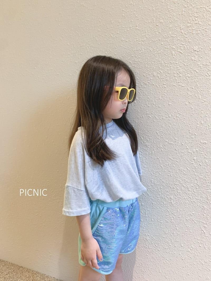 PICNIC - Korean Children Fashion - #Kfashion4kids - Spangle Shorts - 6
