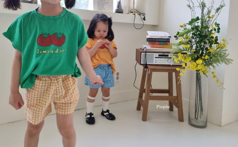 PIOPIU - Korean Children Fashion - #Kfashion4kids - Check Shorts - 11