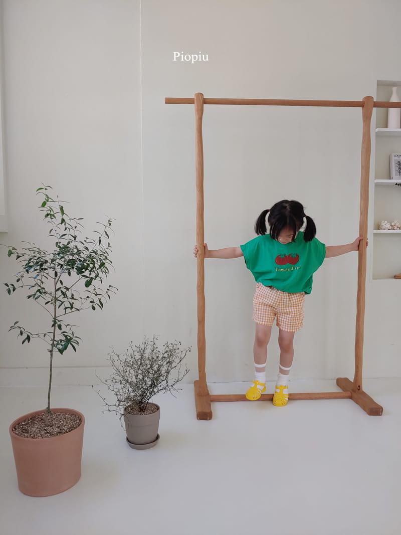 PIOPIU - Korean Children Fashion - #Kfashion4kids - Check Shorts - 6