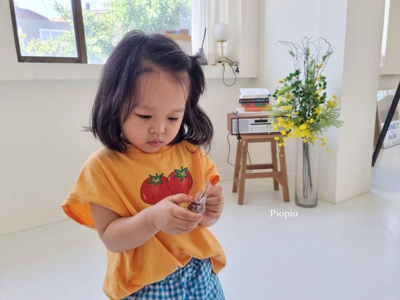 PIOPIU - Korean Children Fashion - #Kfashion4kids - Tomato Sleeveless Te - 12