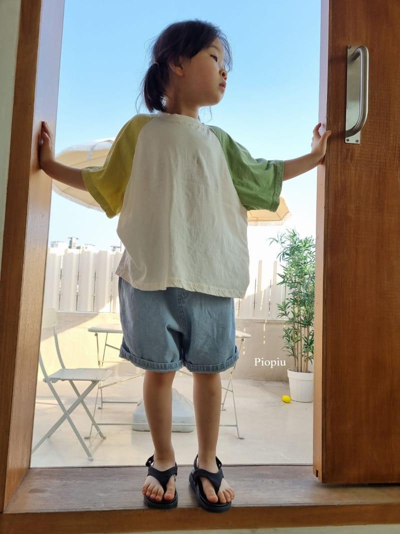 PIOPIU - Korean Children Fashion - #Kfashion4kids - Smile Color Tee - 11