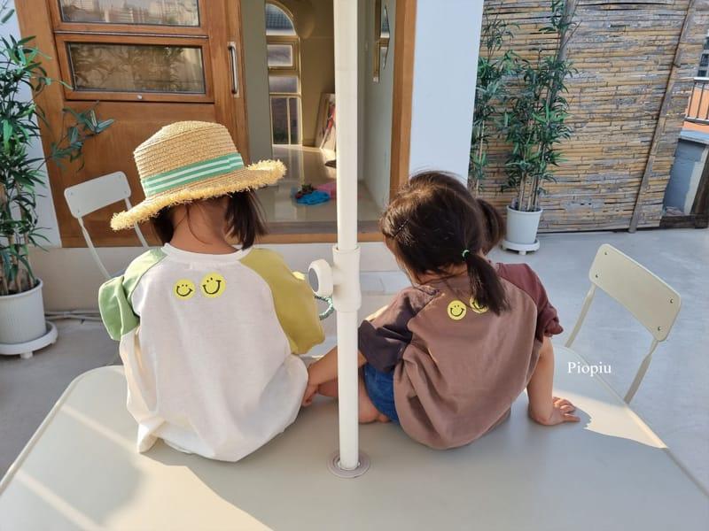 PIOPIU - Korean Children Fashion - #Kfashion4kids - Smile Color Tee - 4