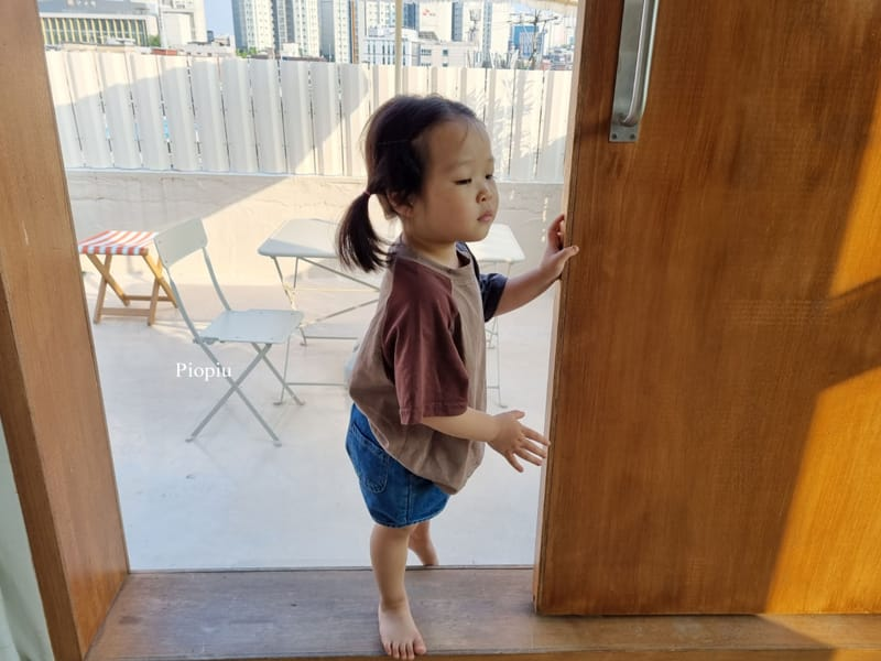 PIOPIU - Korean Children Fashion - #Kfashion4kids - Smile Color Tee - 5