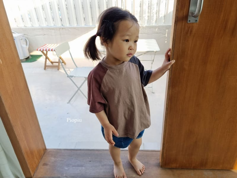 PIOPIU - Korean Children Fashion - #Kfashion4kids - Smile Color Tee - 6