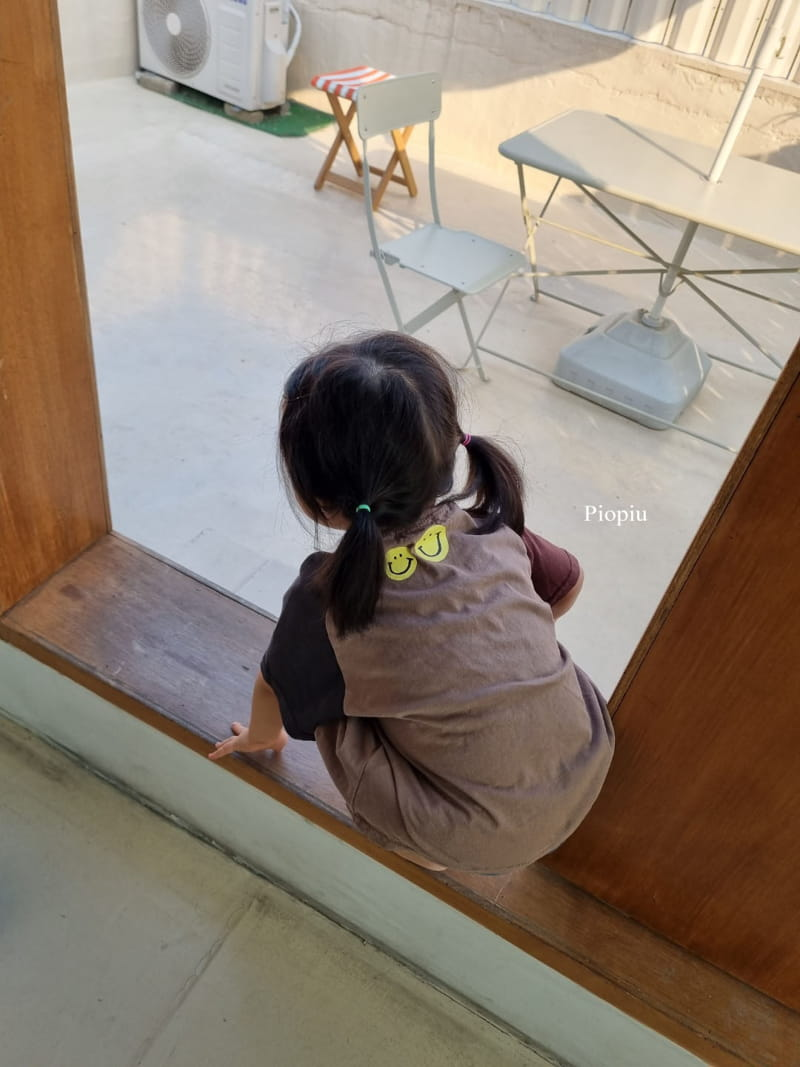 PIOPIU - Korean Children Fashion - #Kfashion4kids - Smile Color Tee - 7
