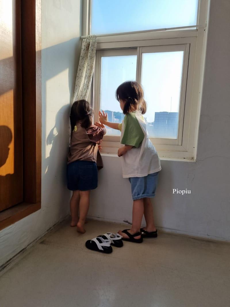 PIOPIU - Korean Children Fashion - #Kfashion4kids - Smile Color Tee - 9