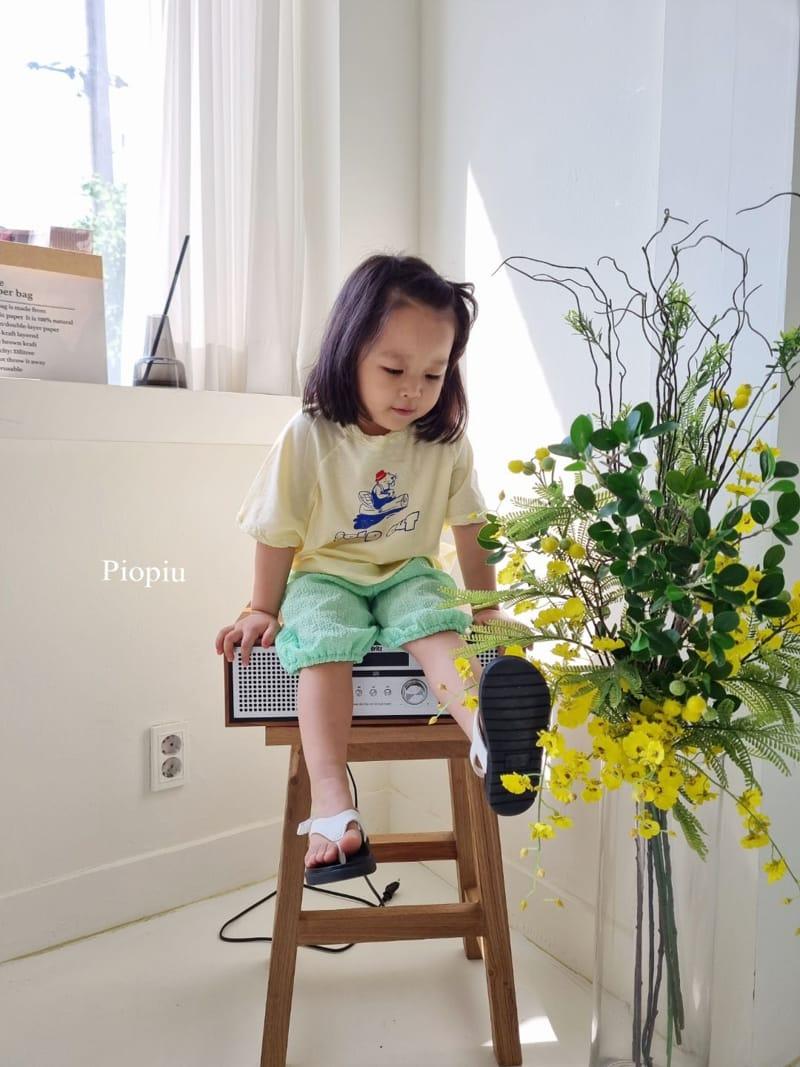 PIOPIU - Korean Children Fashion - #Kfashion4kids - Beaver Tee