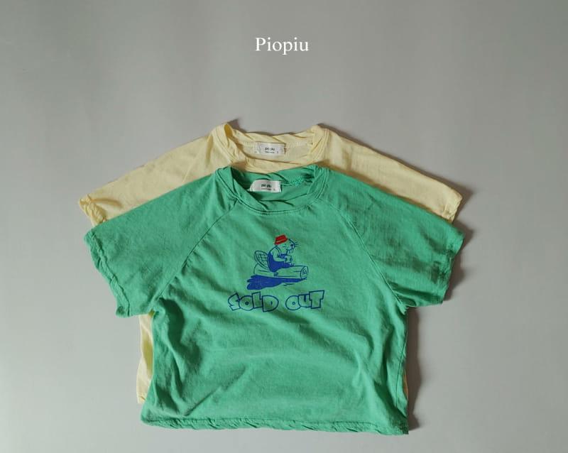 PIOPIU - Korean Children Fashion - #Kfashion4kids - Beaver Tee - 2
