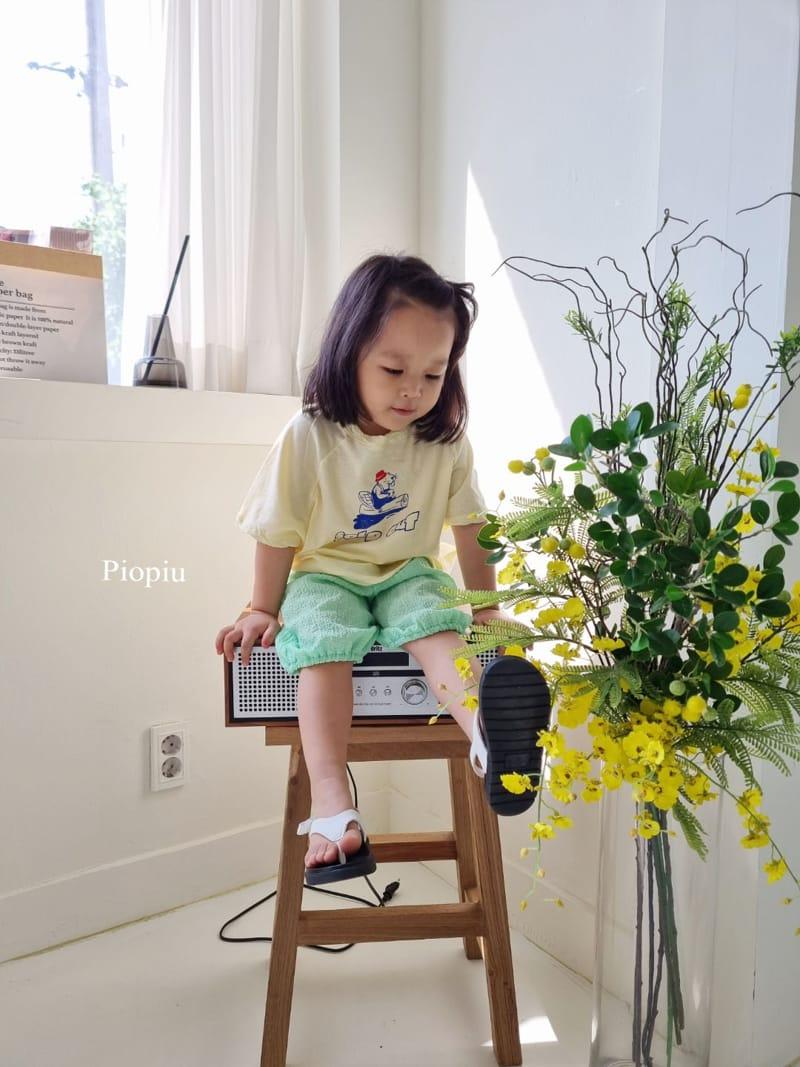 PIOPIU - Korean Children Fashion - #Kfashion4kids - Beaver Tee - 3
