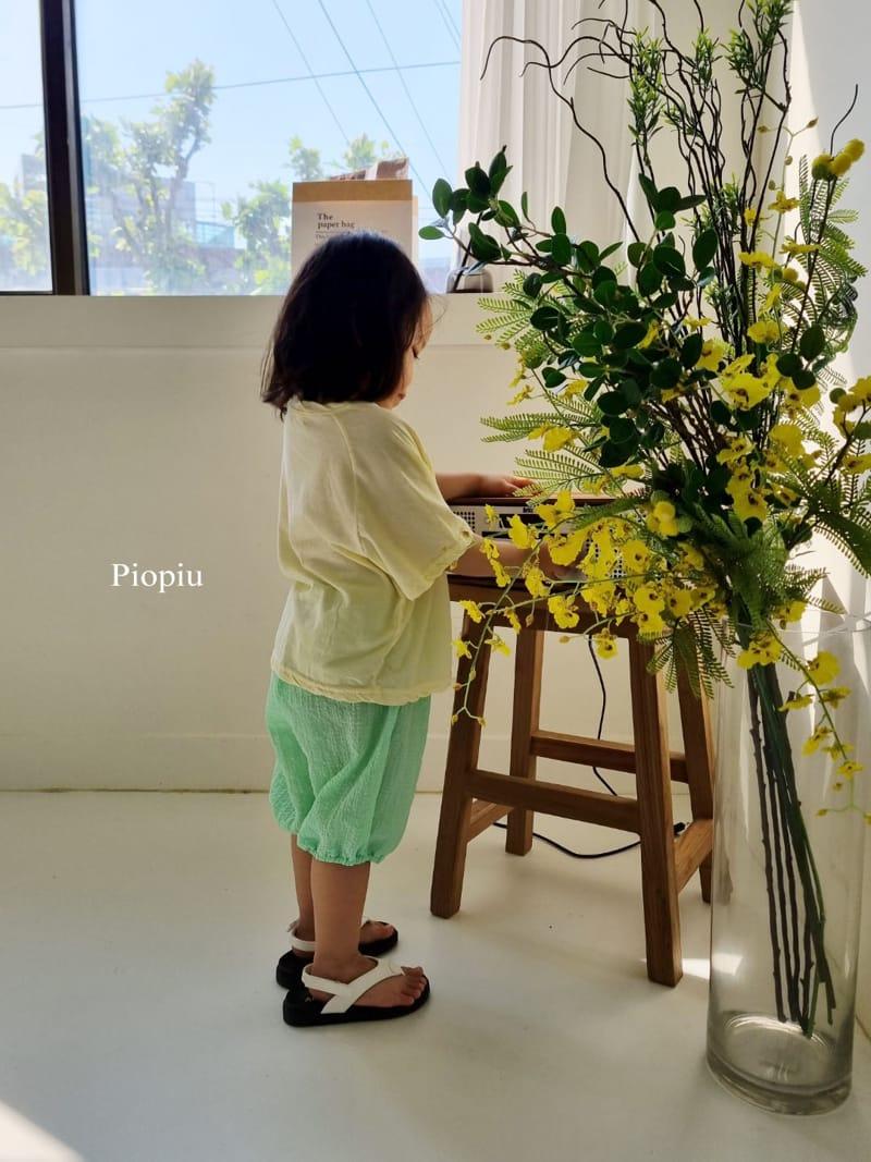 PIOPIU - Korean Children Fashion - #Kfashion4kids - Beaver Tee - 4