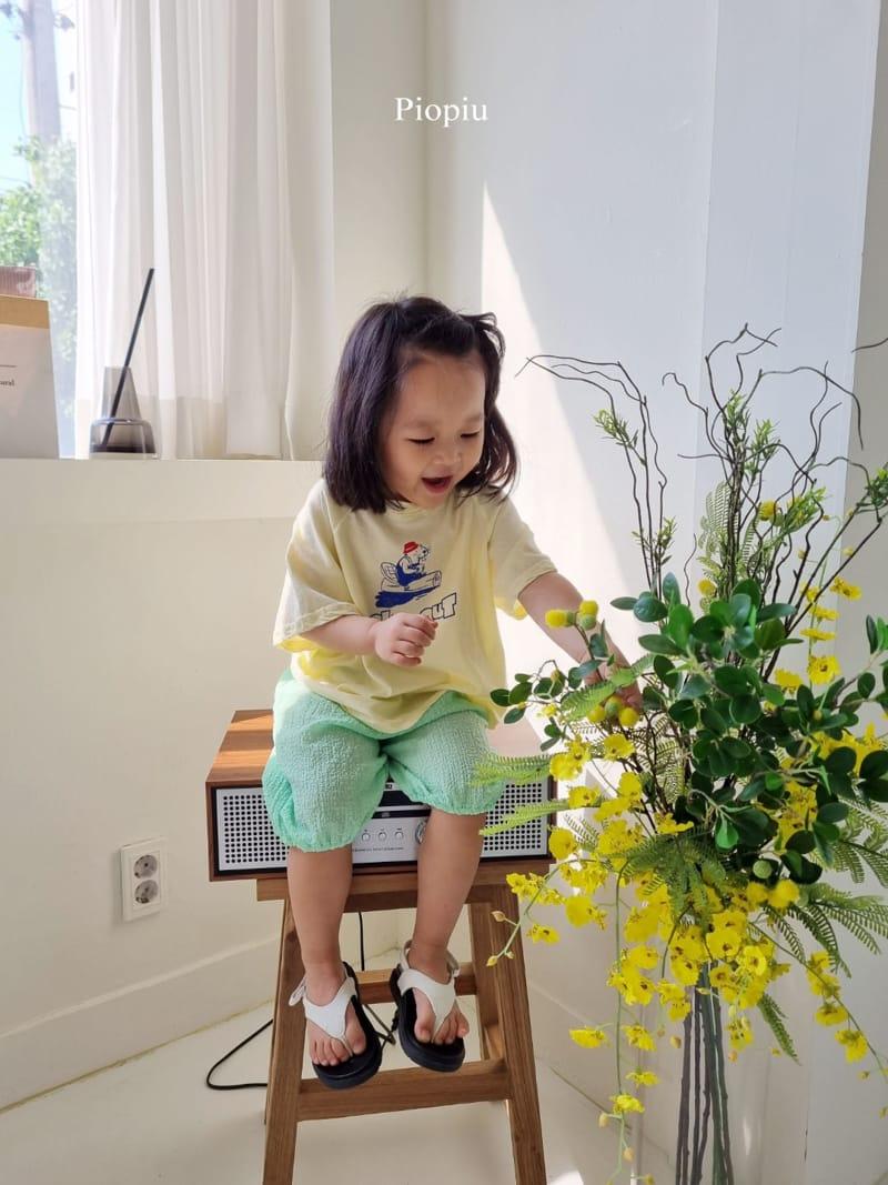PIOPIU - Korean Children Fashion - #Kfashion4kids - Beaver Tee - 7