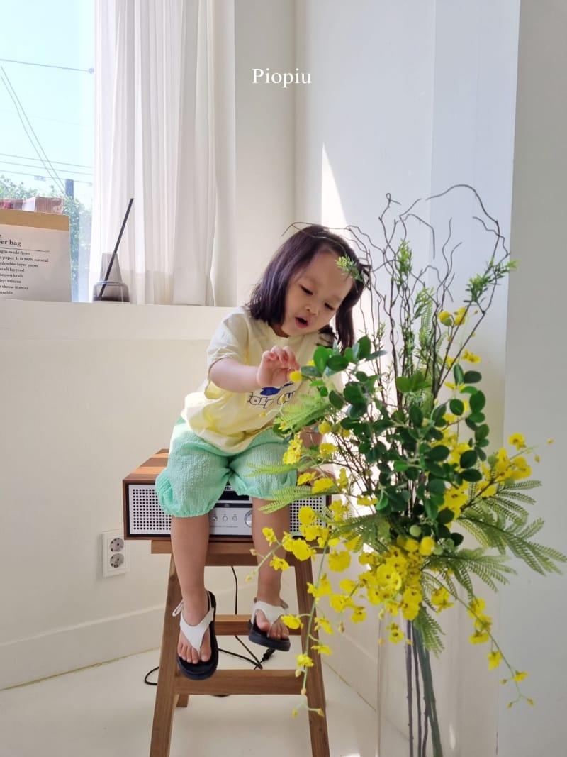 PIOPIU - Korean Children Fashion - #Kfashion4kids - Beaver Tee - 8