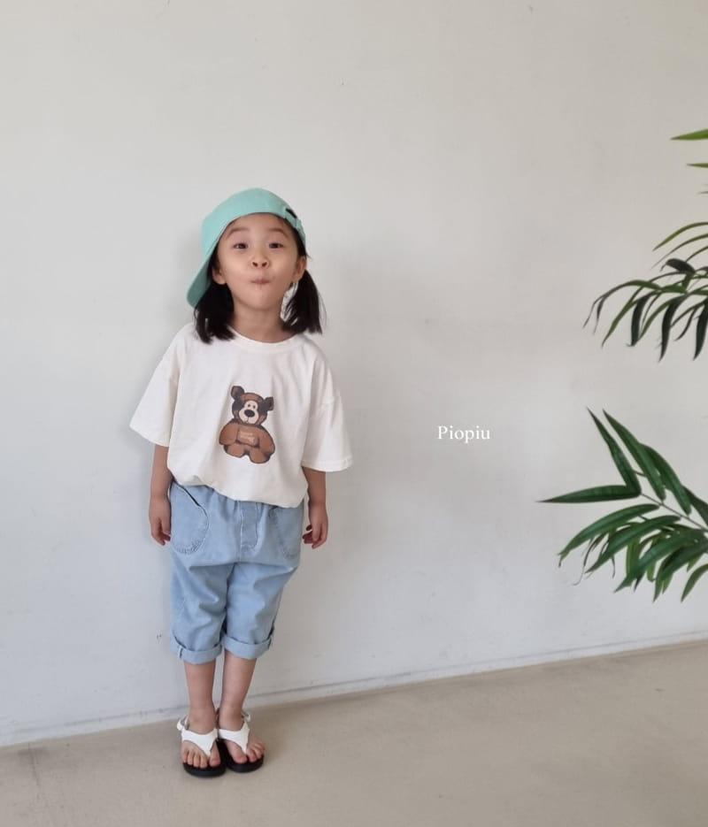 PIOPIU - Korean Children Fashion - #Kfashion4kids - Teddy Tee - 11