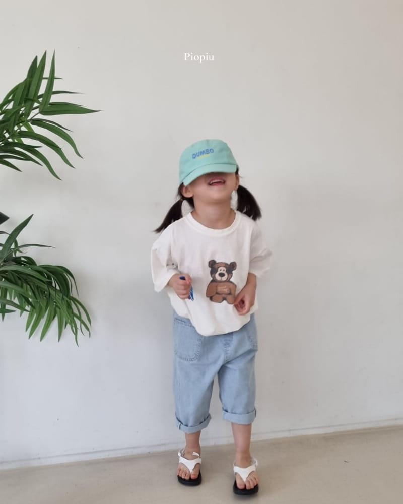 PIOPIU - Korean Children Fashion - #Kfashion4kids - Teddy Tee - 12