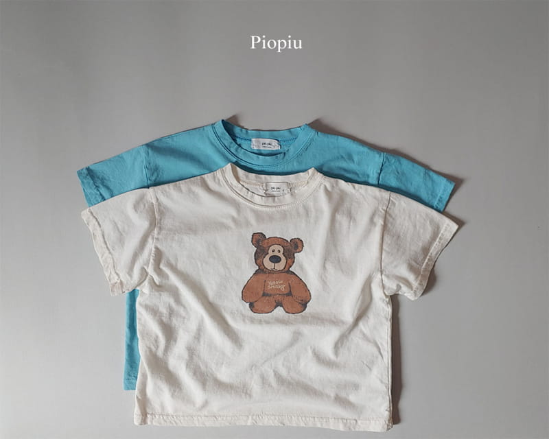 PIOPIU - Korean Children Fashion - #Kfashion4kids - Teddy Tee - 2