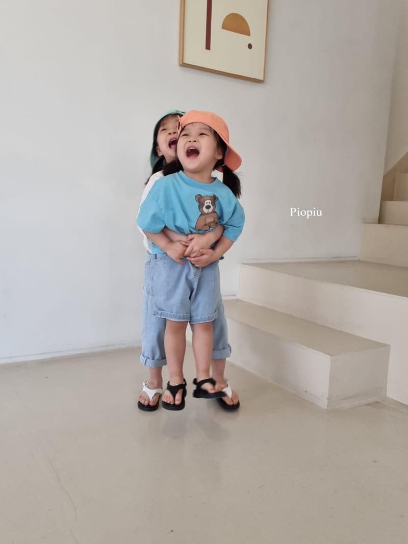 PIOPIU - Korean Children Fashion - #Kfashion4kids - Teddy Tee - 4