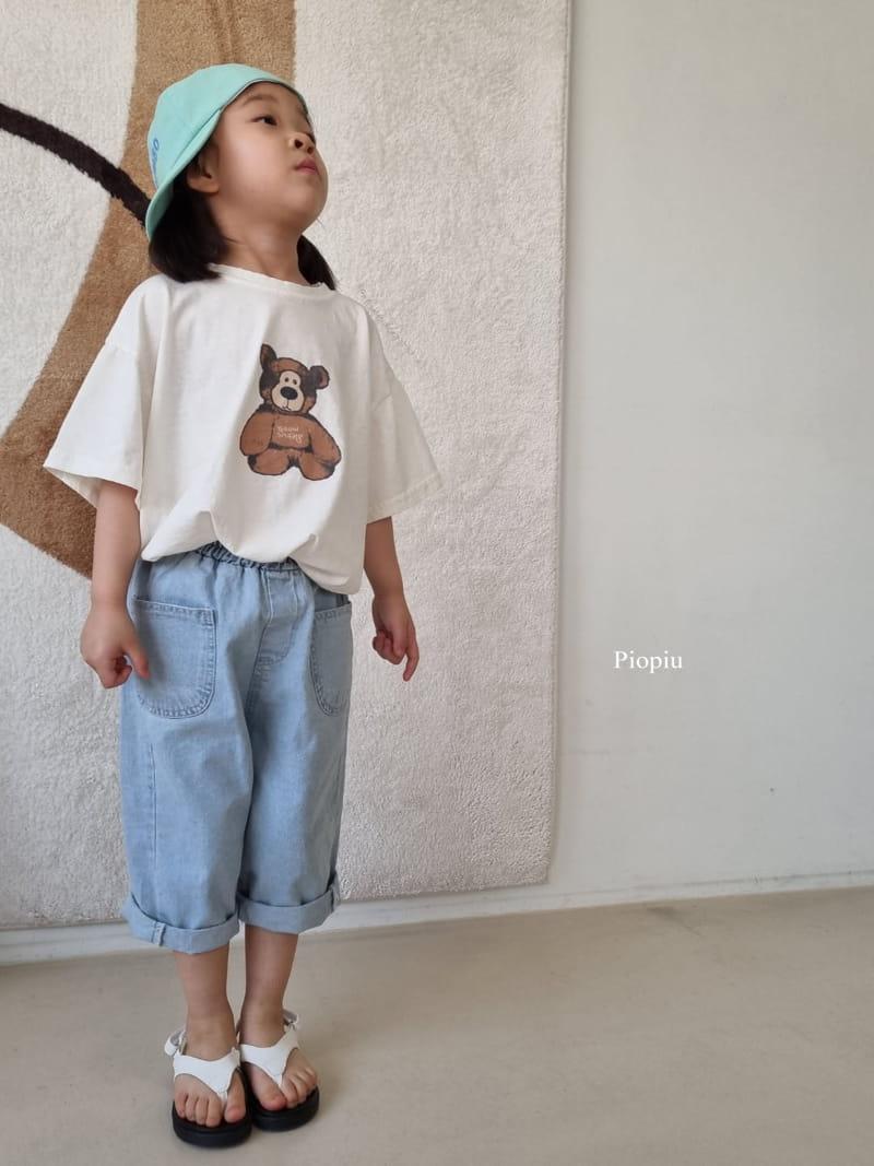 PIOPIU - Korean Children Fashion - #Kfashion4kids - Teddy Tee - 6