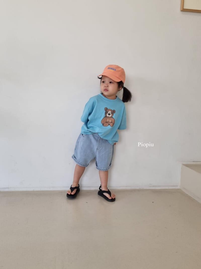 PIOPIU - Korean Children Fashion - #Kfashion4kids - Teddy Tee - 7
