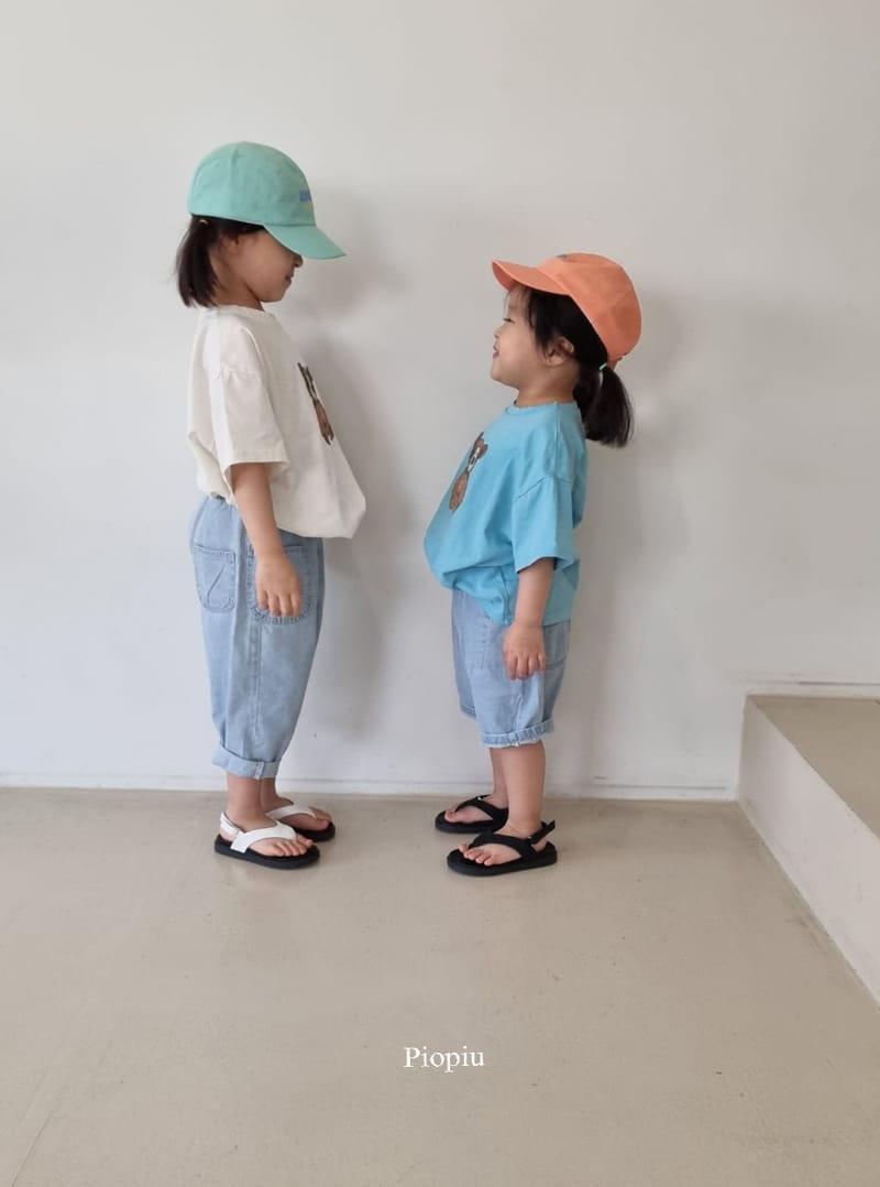 PIOPIU - Korean Children Fashion - #Kfashion4kids - Teddy Tee - 8