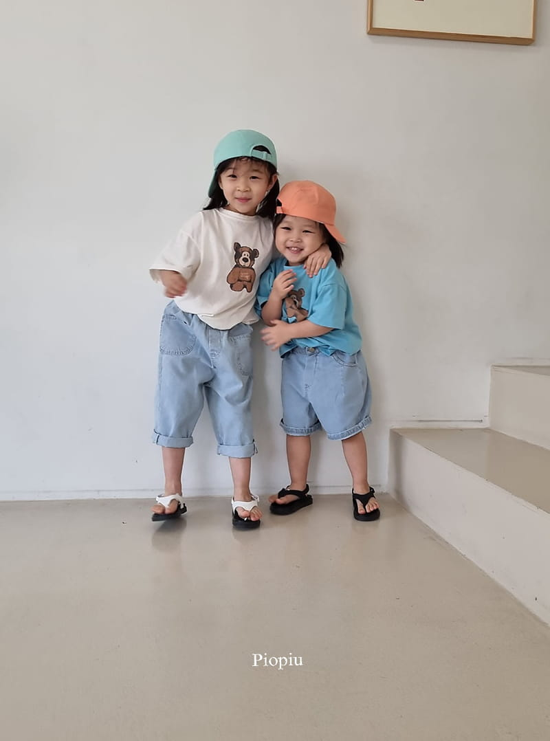 PIOPIU - Korean Children Fashion - #Kfashion4kids - Teddy Tee - 9