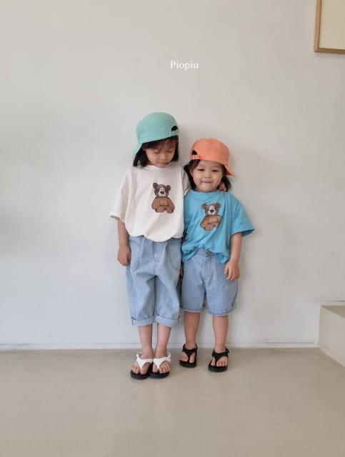 PIOPIU - BRAND - Korean Children Fashion - #Kfashion4kids - Teddy Tee