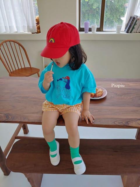 PIOPIU - BRAND - Korean Children Fashion - #Kfashion4kids - Ppoppi Tee