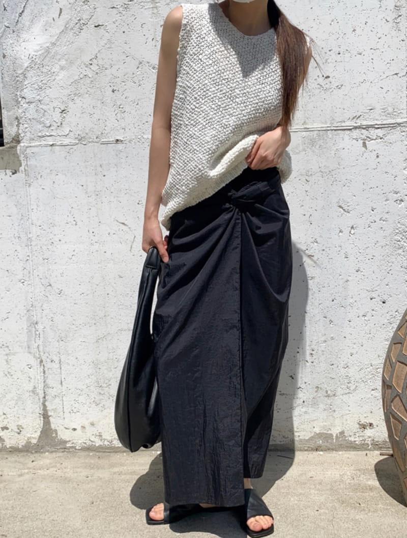 RATEL - BRAND - Korean Children Fashion - #Kfashion4kids - Twisted Skirt