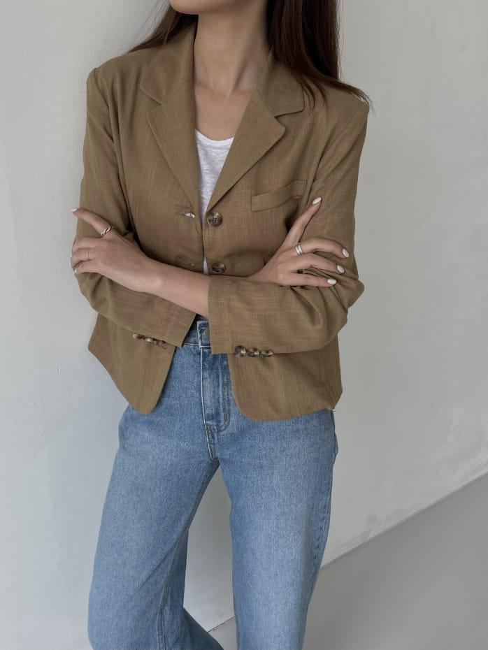 RATEL - Korean Children Fashion - #Kfashion4kids - Bibi Linen Jacket - 2