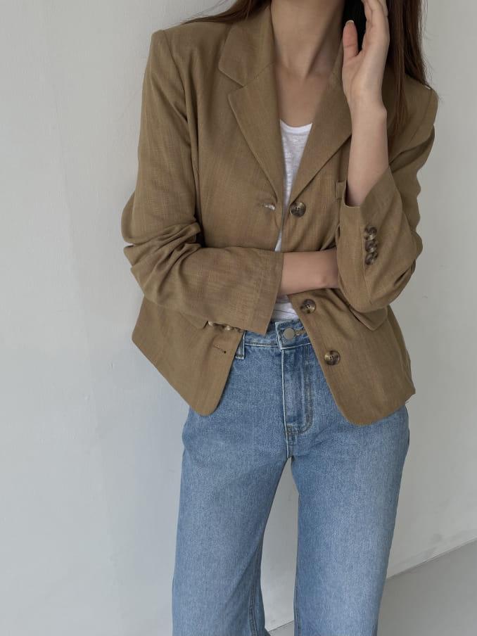 RATEL - Korean Children Fashion - #Kfashion4kids - Bibi Linen Jacket - 3