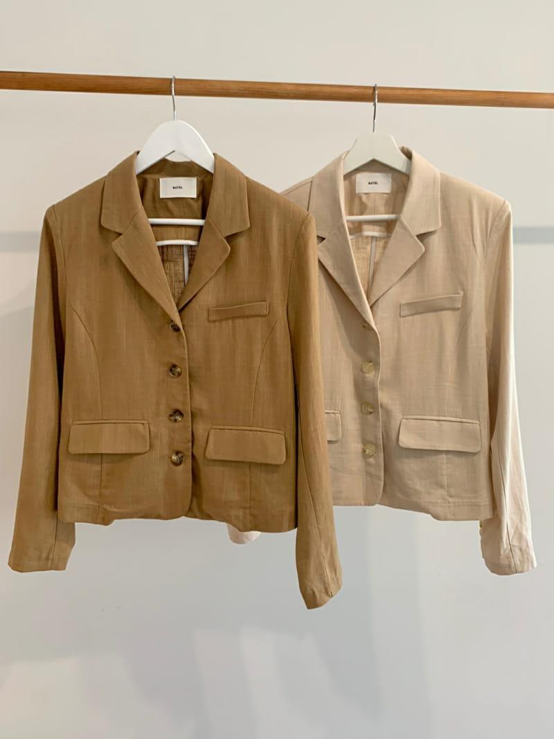 RATEL - Korean Children Fashion - #Kfashion4kids - Bibi Linen Jacket - 5
