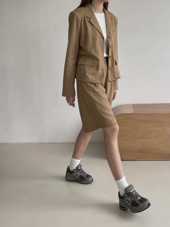 RATEL - Korean Children Fashion - #Kfashion4kids - Bibi Linen Top Bottom Set - 4
