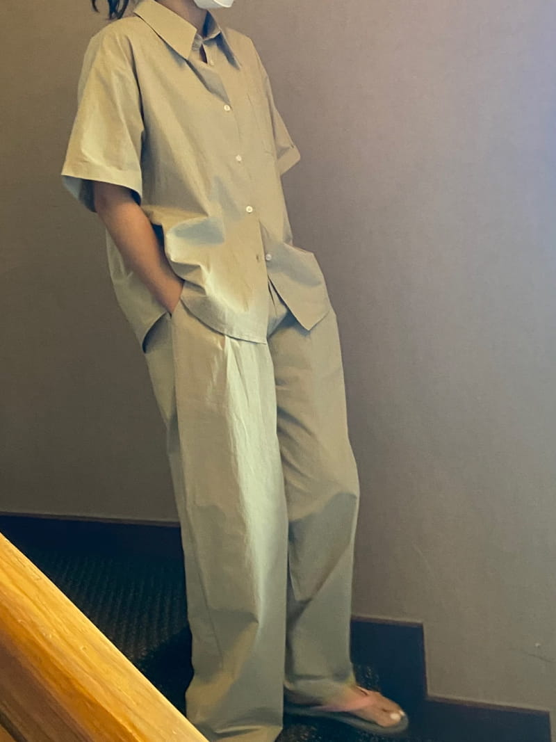 TWENTY FOUR SEVEN - Korean Children Fashion - #Kfashion4kids - Match Top Bottom Set - 3