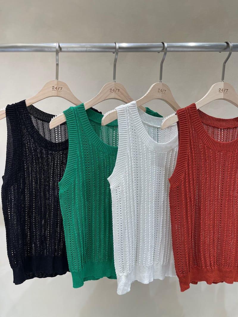 TWENTY FOUR SEVEN - Korean Children Fashion - #Kfashion4kids - Summer Hole Knit  - 3