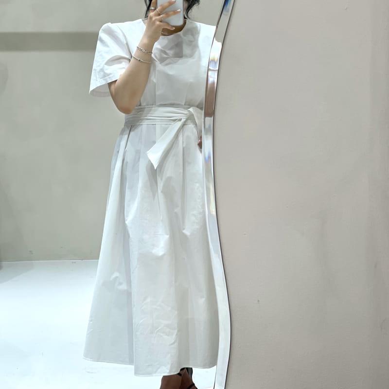 TWENTY FOUR SEVEN - Korean Children Fashion - #Kfashion4kids - Pintuck One-piece