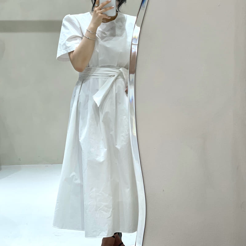 TWENTY FOUR SEVEN - Korean Children Fashion - #Kfashion4kids - Pintuck One-piece - 2