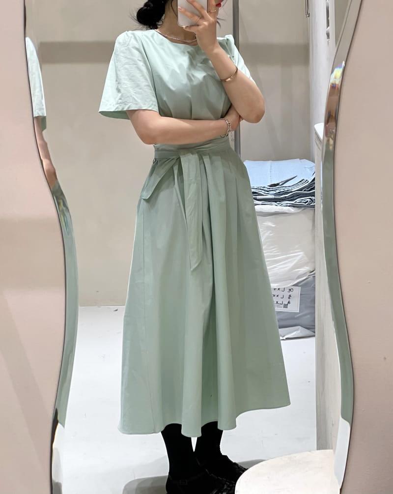 TWENTY FOUR SEVEN - Korean Children Fashion - #Kfashion4kids - Pintuck One-piece - 3