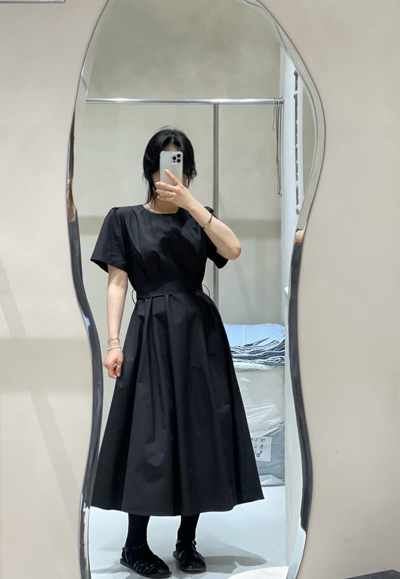 TWENTY FOUR SEVEN - Korean Children Fashion - #Kfashion4kids - Pintuck One-piece - 4