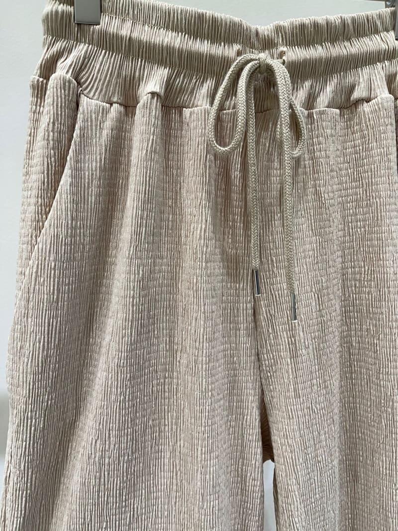 TWENTY FOUR SEVEN - Korean Children Fashion - #Kfashion4kids - Plan Wrinkle Pants