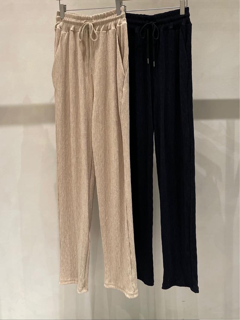TWENTY FOUR SEVEN - BRAND - Korean Children Fashion - #Kfashion4kids - Plan Wrinkle Pants