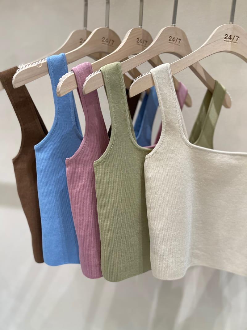 TWENTY FOUR SEVEN - Korean Children Fashion - #Kfashion4kids - Square knit Slip - 4