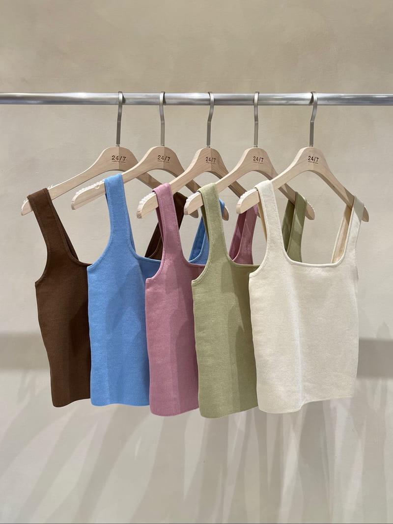 TWENTY FOUR SEVEN - BRAND - Korean Children Fashion - #Kfashion4kids - Square knit Slip