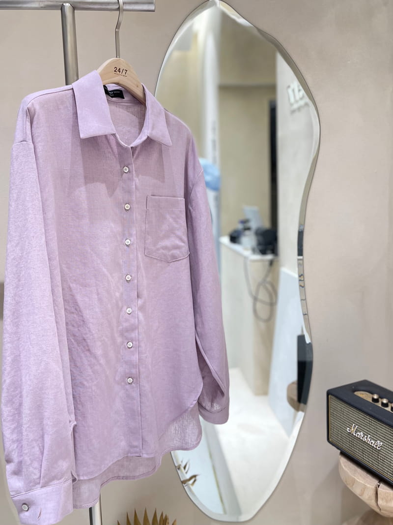 TWENTY FOUR SEVEN - Korean Children Fashion - #Kfashion4kids - London Linen Shirt - 3